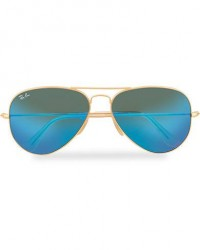 Ray-Ban 0RB3025 Sunglasses Mirror Blue men One size Blå