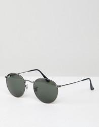 Ray-Ban 0RB3447 round sunglasses - Black
