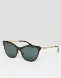 Ray-Ban 0RB3580 cat eye sunglasses - Black