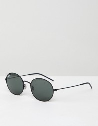 Ray-Ban 0RB3594 round sunglasses - Black