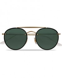 Ray-Ban 0RB3614N Sunglasses Gold Metal men One size Sort