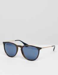 Ray-Ban 0RB4171 round sunglasses - Brown
