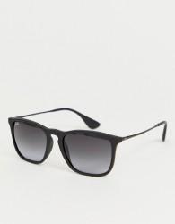 Ray-Ban 0RB4187 square sunglasses - Black