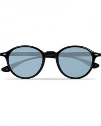 Ray-Ban 0RB4237 Round Sunglasses Black/Green Mirror men One size Sort