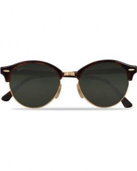 Ray-Ban 0RB4246 Clubmaster Sunglasses Red Havana/Green men One size Brun