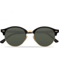 Ray-Ban 0RB4246 Clubround Sunglasses Black/Green men One size Sort