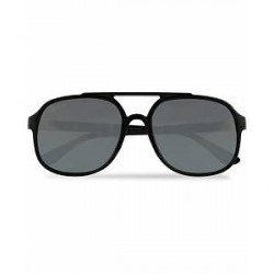 Ray-Ban 0RB4312CH Sunglasses Black with Mirror Lenses