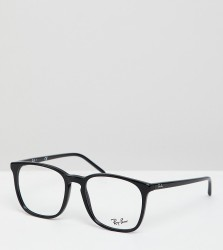 Ray-Ban 0RX5387 square optical frames with demo lenses - Black