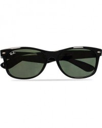 Ray-Ban New Wayfarer Sunglasses Black/Crystal Green men One size Sort
