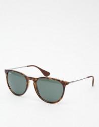 Ray-Ban Round Erika Sunglasses 0RB4171 - Brown