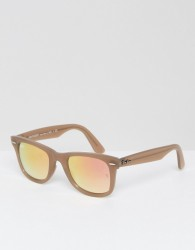 Ray-Ban Wayfarer Sunglasses 0RB4340 Improved Fit - Beige