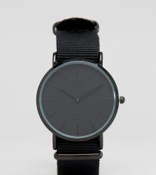 Reclaimed Vintage Inspired Canvas Watch In Black Exclusive to ASOS - Black
