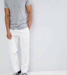 Reclaimed Vintage Inspired Cord Trousers In Ecru - White
