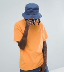 Reclaimed Vintage inspired oversized overdye t-shirt in orange - Orange