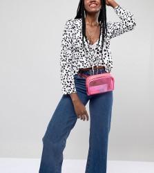 Reclaimed Vintage inspired plastic bum bag - Pink