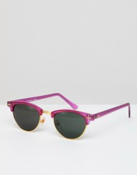 Reclaimed Vintage Inspired Retro Sunglasses In Pink Exclusive To ASOS - Pink