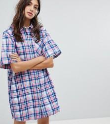 Reclaimed Vintage Inspired Shirt Dress - Multi