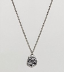 Reclaimed Vintage Inspired Spider Pendant Necklace In Silver Exclusive To ASOS - Silver