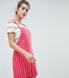 Reclaimed Vintage Inspired Stripe Playsuit - Pink