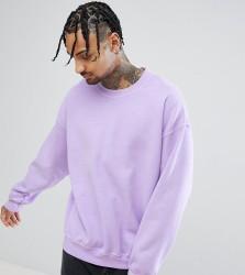 Reclaimed Vintage Inspired Sweatshirt In Lilac - Purple