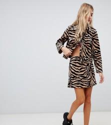 Reclaimed Vintage inspired tiger print skirt - Multi