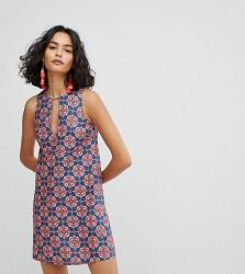 Reclaimed Vintage Inspired Tunic V Dress - Multi