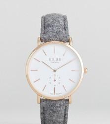 Reclaimed Vintage Inspired Wool Watch In Grey 36mm Exclusive to ASOS - Grey