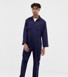Reclaimed Vintage revived boiler suit - Navy