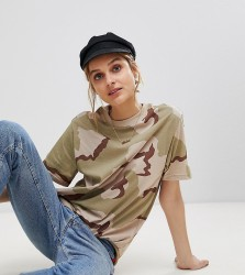 Reclaimed Vintage Revived Camo T-Shirt - Multi