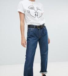 Reclaimed Vintage revived Levi jeans in dark wash - Blue