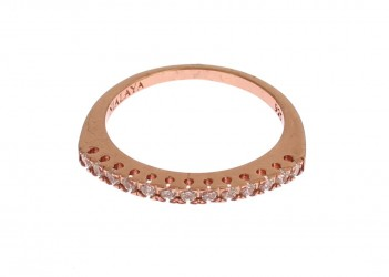 Red Gold 925 Silver Ring
