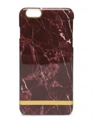 Red Marble Glossy Iphone 6plus