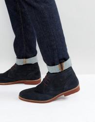 Red Tape Brogue Chukka Boots - Tan