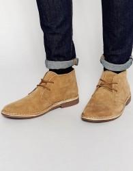 Red Tape Desert Boots Beige Suede - Beige