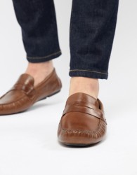 Red Tape Driving Shoes In Tan - Tan