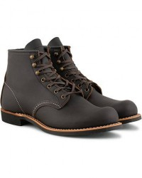 Red Wing Shoes Blacksmith Boot Black Prairie Leather men US7,5 - EU40 Sort