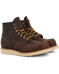 Red Wing Shoes Moc Toe Boot Briar Oil Slick Leather men US8,5 - EU41,5 Brun