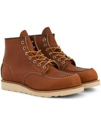 Red Wing Shoes Moc Toe Boot Oro Legacy Leather men US7,5 - EU40 Brun
