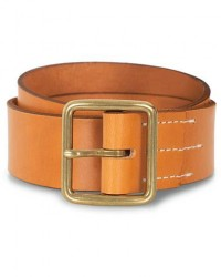 Red Wing Shoes Vegetable Leather Belt Natural Tan English Bridle men W32 Brun