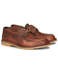 Red Wing Shoes Wacouta Camp Moc Copper Rough/Tough men US8 - EU41 Brun
