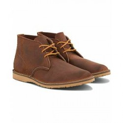 Red Wing Shoes Weekender Chukka Maple Muleskinner Leather