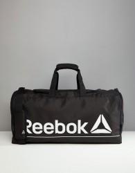 Reebok Gym Bag In Black - Black
