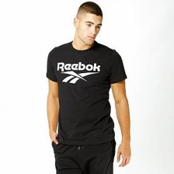 Reebok T-Shirt - Chest Vector Graphic