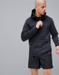 Reebok Training Thermo Warm Half Zip Jacket In Black CY4913 - Black
