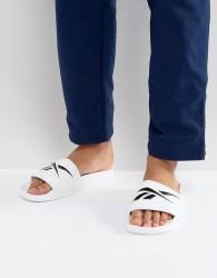 Reebok Vector Sliders In White CN0213 - White