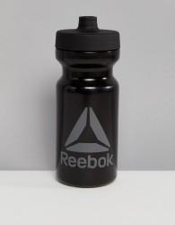 Reebok Water Bottle In Black - Black