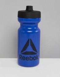 Reebok Water Bottle In Blue - Blue