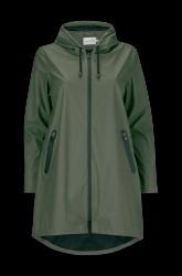 Regnfrakke jrKamelia LS Raincoat