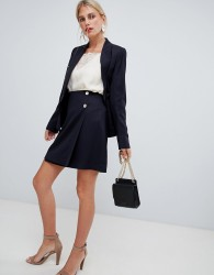 Reiss button mini skirt - Navy