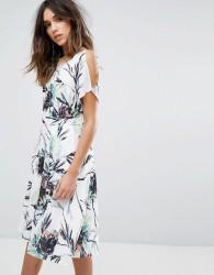 Reiss Cold Shoulder Dress - Multi